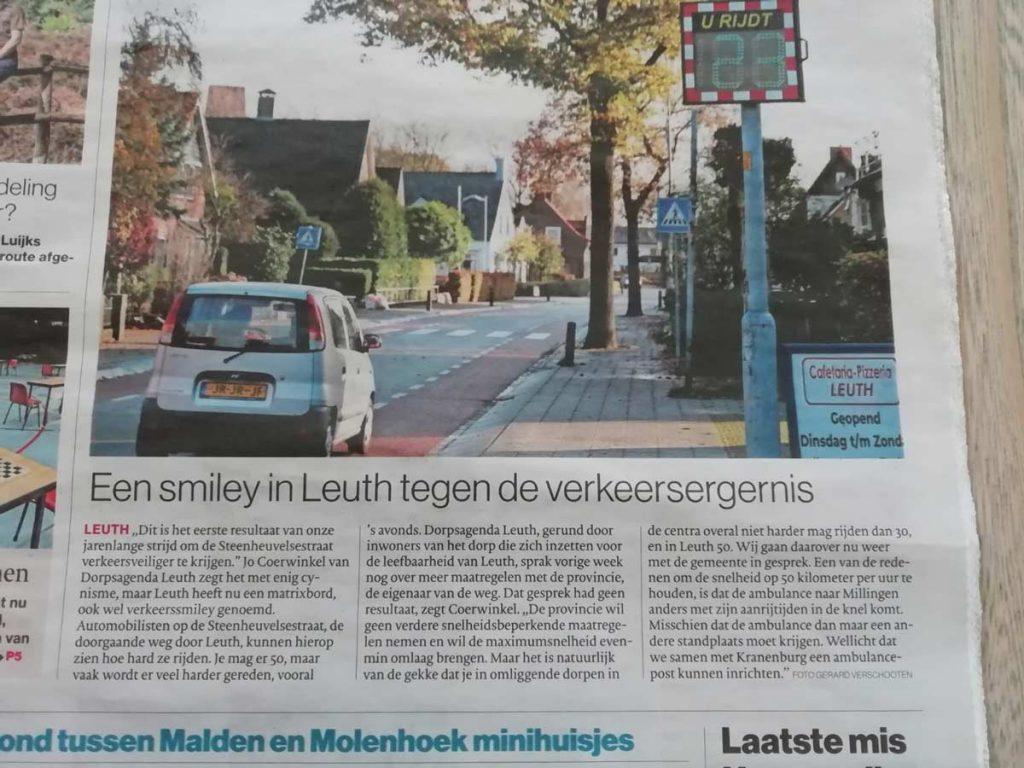 Smiley-in-de-Steenheuvelsestraat-Leuth---Gelderlander-foto